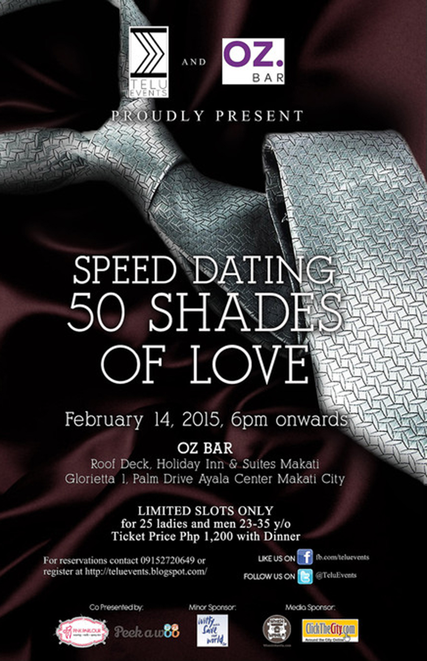 50 Shades of Love Speed Dating