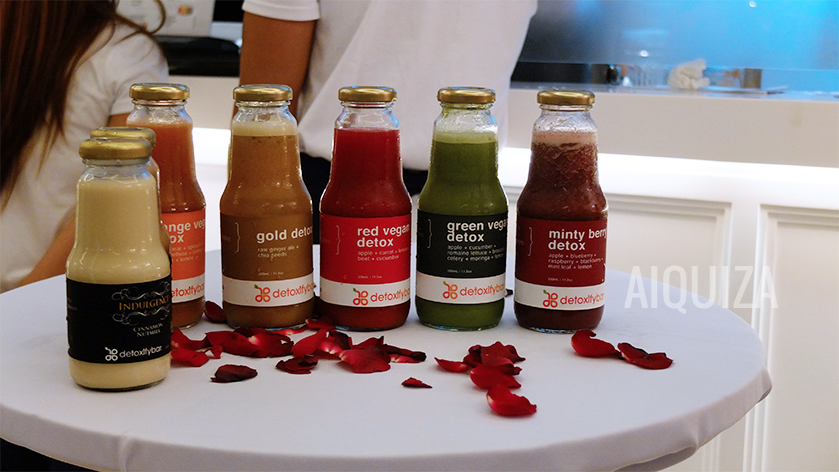 Detoxify Bar Shangri-La Juices
