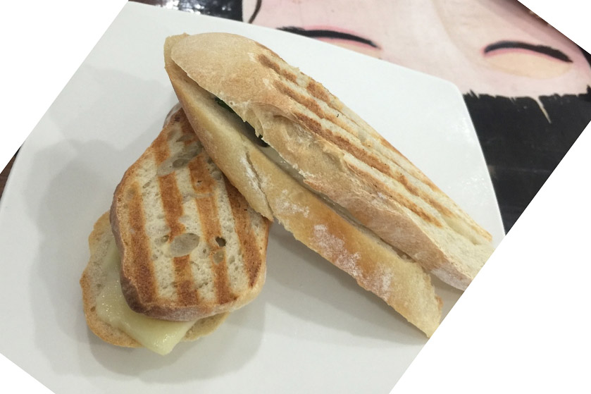 3 Cheese Panini by Vine Cafe