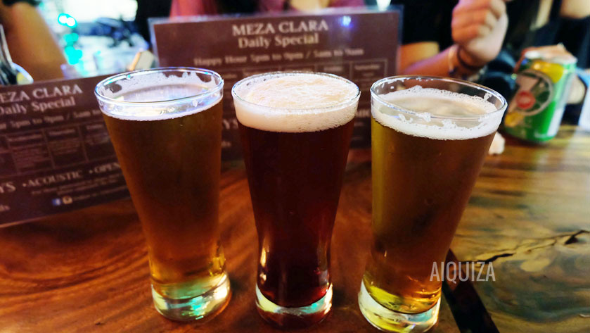Flavored Beer at Meza Clara